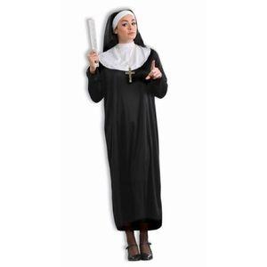 Classic Nun  halloween costume be naughty or nice